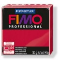 Fimo-professinal 85g. karmin rød