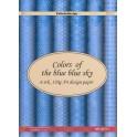 A4 design papir - blue blue sky