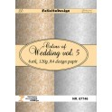 A4 design papir - wedding 5