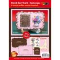Stand Easy Card - Hygrangea