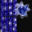 stjernestrimler 15mm x 64 tk. blå stjernehimmel