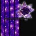 stjernestrimler 10mm x 64 tk. lilla stjernehimmel