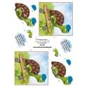 3D ark - Dan skildpadde