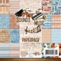 Amy design blok 15,2x15,2cm sounds of music