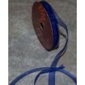 organza bånd 10mmx10m. blå - 50121