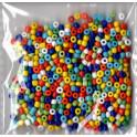 glasperler rocailles 2,5mm. mix
