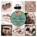 Dixi Craft  toppers ET0234 - 4 stk.