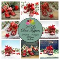 Dixi Craft  toppers ET0251 - 4 stk.