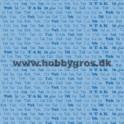 14x28cm kort , blå tak